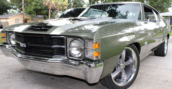 The 1971 Chevelle of Dan Acosta