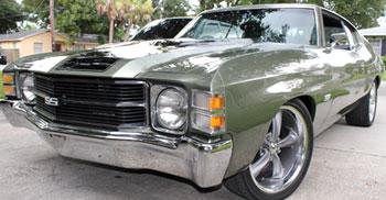 The 1971 Chevelle of Dan Acosta