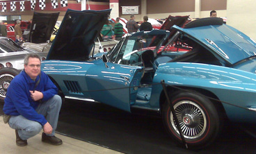 Dwight with his 67 Corvette