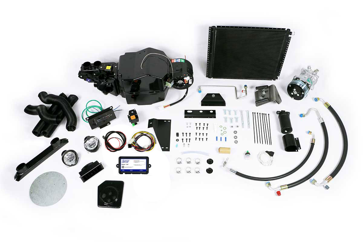 1969 and 1970 Ford Mustang complete A/C Kit