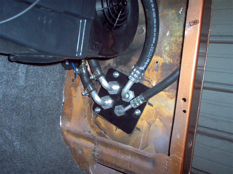 Ford Pickup Kick Panel