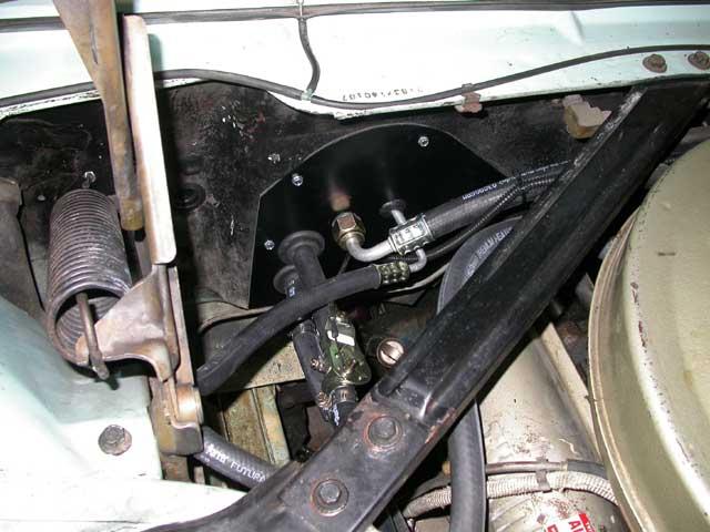 Ford Thunderbird Firewall on Ford Heater Hose Diagram