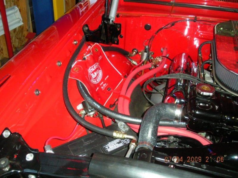 1964 Ford Galaxie Engine Bay