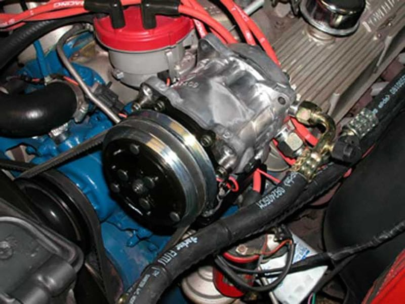 Ford Mustang Ac Compressor
