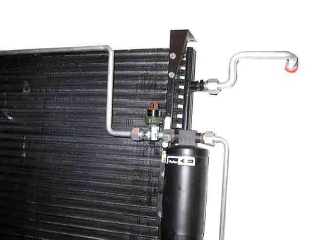 Ford Thunderbird Condenser Kit on 1972 ford pickup truck