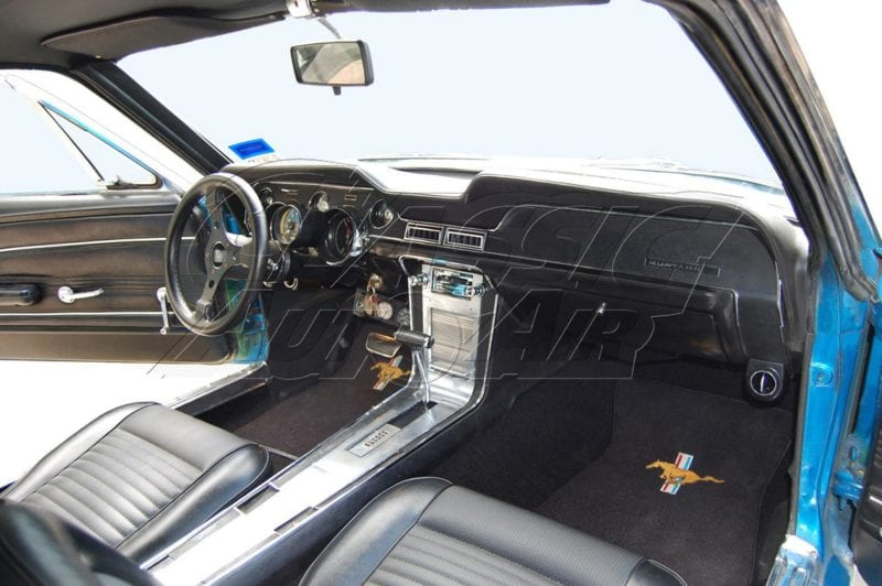 1967 ford mustang air conditioning system