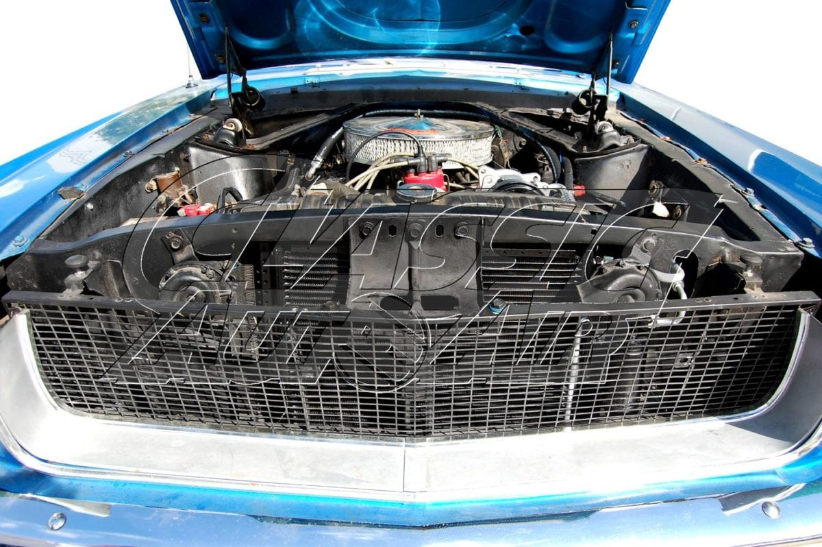 1968 Ford Mustang Air Conditioning System 68 Ac Wiring