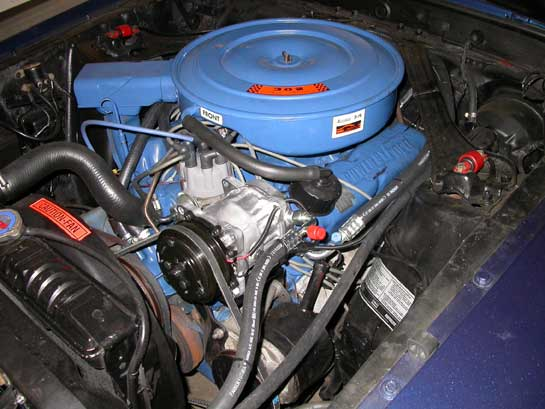 Ford Mustang Ac Compressor on 1968 Mustang Engine Diagram