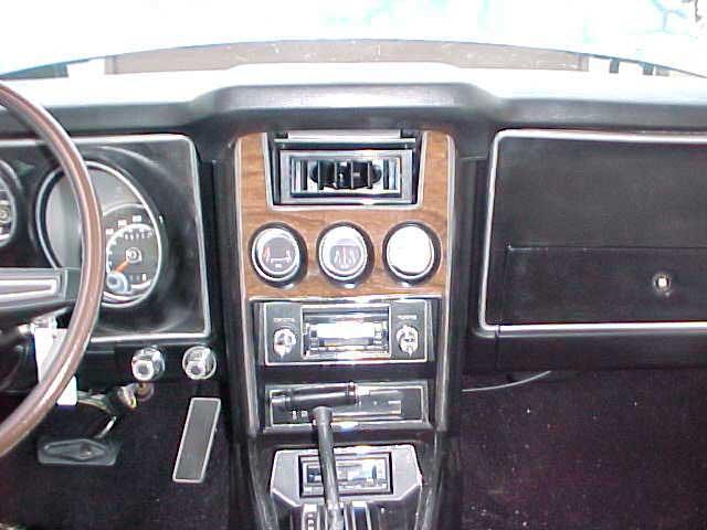Ford Mustang Center Louver on 1957 Thunderbird Dash