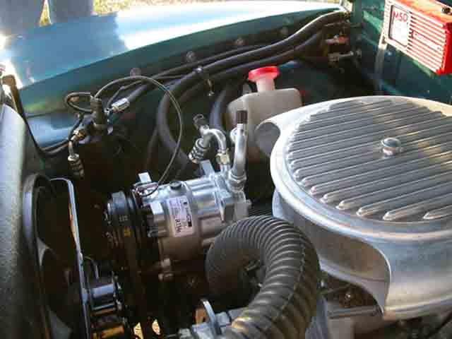 1951 Chevy Panel Delivery Truck Air Conditioning System