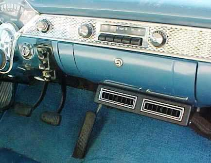 1956 chevy bel air nomad air conditioning system 56
