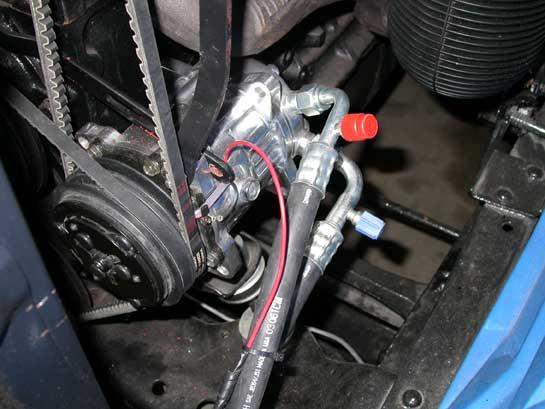 Chevrolet Sedan Compressor
