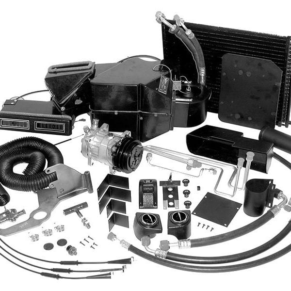 1958 Chevy Bel Air Sedan Air Conditioning Systems Kit from Classic Auto Air