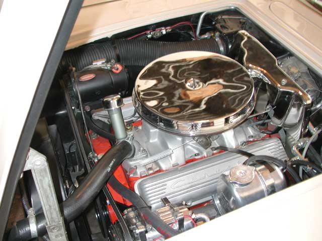 Chevrolet Corvette Engine Bay on 1979 Corvette Air Conditioning System