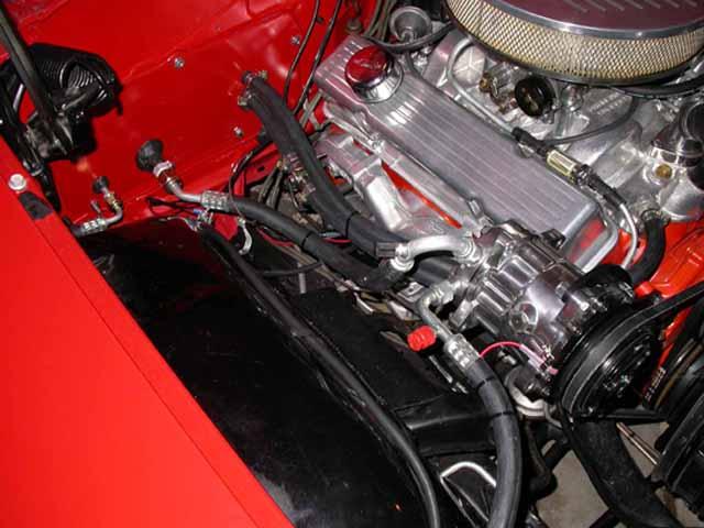 Chevrolet Impala Sedan Engine Bay on 1966 Ford Falcon