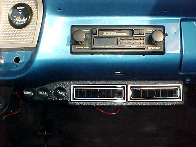 Vintage Air Ac Vents