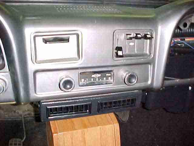 1963 Chevy Panel Delivery Truck Air Conditioning Kit