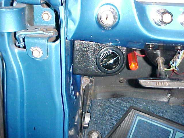 Ford Pickup Driver Side Ac Vent