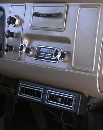 1965 Chevy Truck Factory Air Conditioning