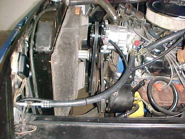 Ford Pickup Ac Compressor on 1972 Pontiac Gto