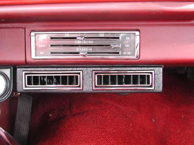1966 Chevrolet Bel Air Sedan Center Vents Classic Auto