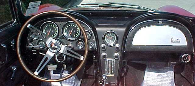 Chevrolet Corvette Dash