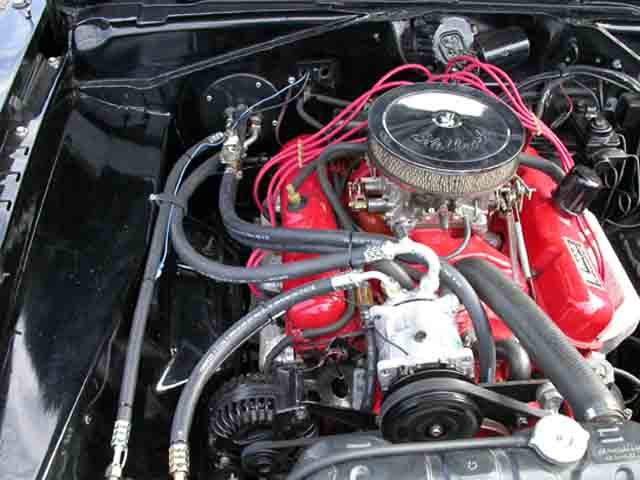 Plymouth Barracuda Engine Bay