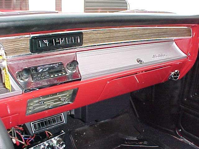Chevrolet Chevelle Dash Vent on 1957 Thunderbird Dash