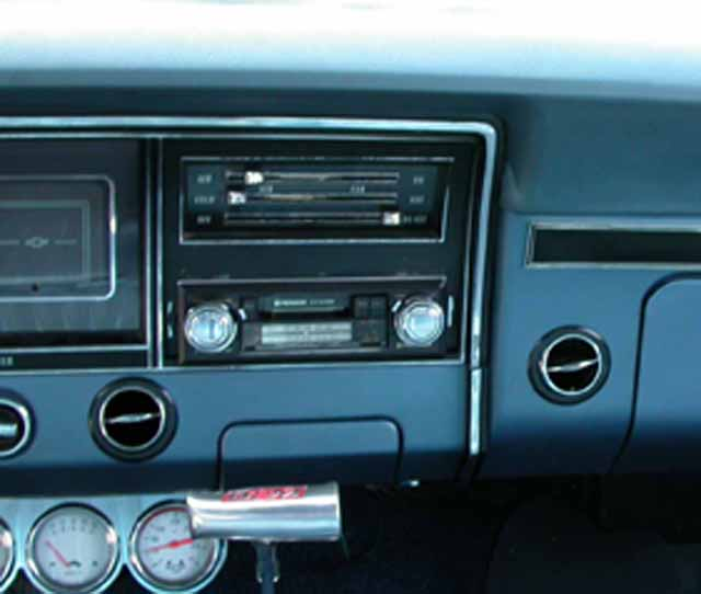 1968 Chevy Impala Sedan Air Conditioning System 68