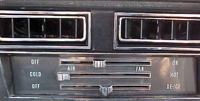 1969 Chevy Chevelle Air Conditioning System