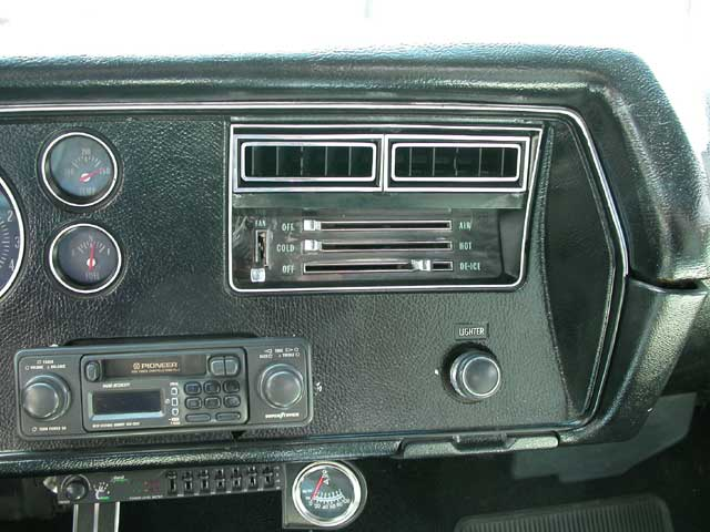1970 Chevy Chevelle Air Conditioning System 70 Chevy