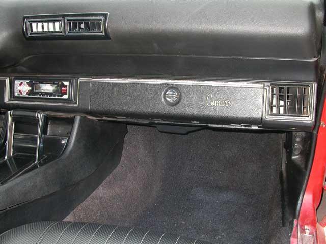 Chevorlet Camaro Passenger Dash
