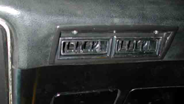 Chevrolet Nova Center Vents on 1972 Ford Falcon