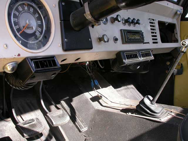 1974 ford bronco air conditioning system 74 ford bronco ac Full Size Bronco Interior 1980 ford bronco gas mileage
