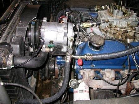 1975 Ford Bronco Ac Compressor Classic Auto Air Air