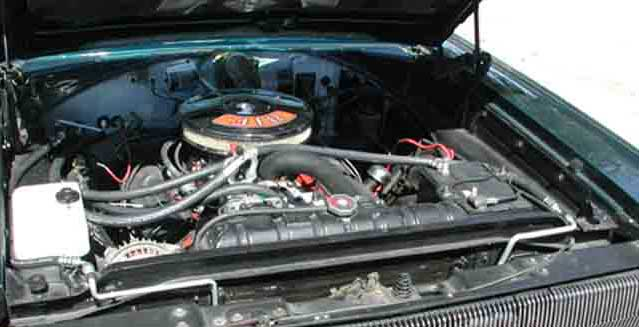 Plymouth Belvedere Engine Bay
