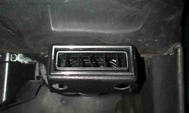 1969 Dodge Charger Passenger Ac Vent Classic Auto Air