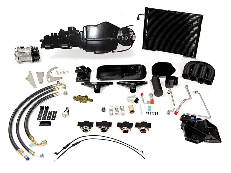 1973 PLYMOUTH BARRACUDA COMPLETE AC SYSTEM