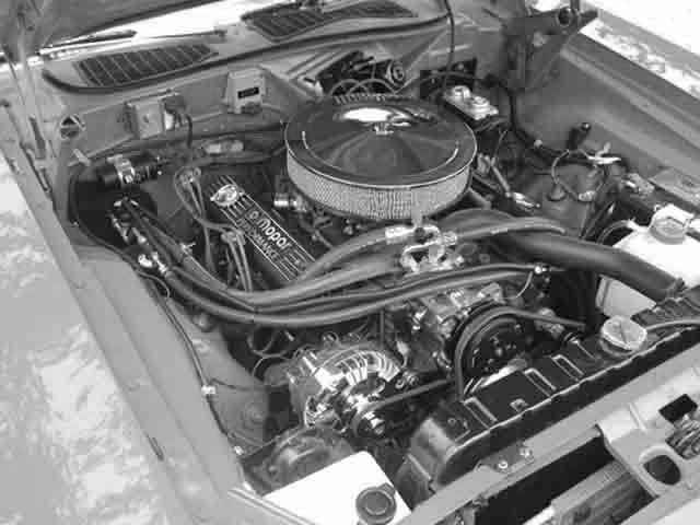 1974 Dodge Challenger Rt Engine Bay Classic Auto Air