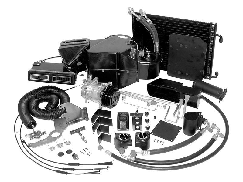 1956 CHEVROLET TRI-FIVE - SEDAN AC COMPLETE SYSTEM