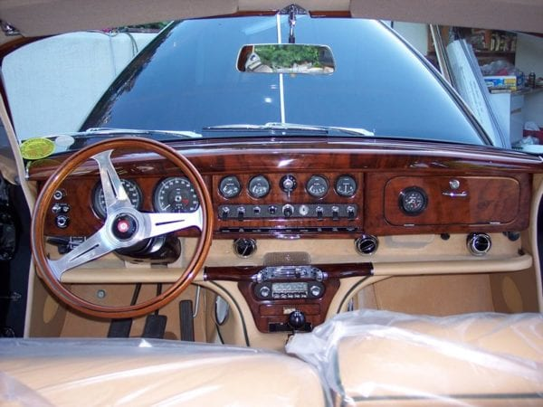 1968 JAGUAR S-TYPE INTERIOR