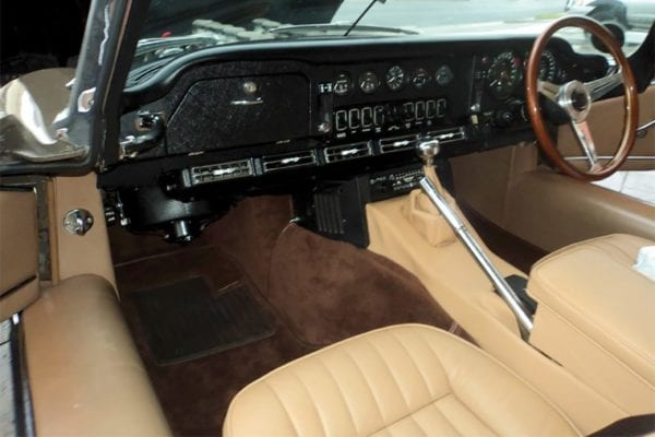 1971 JAGUAR E-TYPE S3 RHD INTERIOR