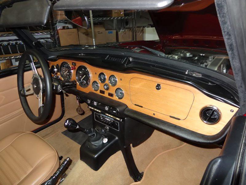 1974 Triumph TR6 LHD Air Conditioning System   74 Triumph AC