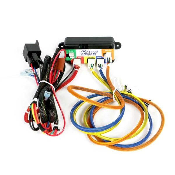 1965 FORD FALCON AIR CONDITIONING SYSTEM EZ Wire Color Coding System