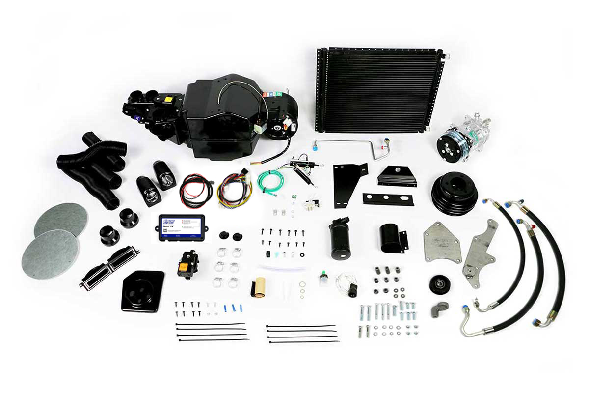 1966 and 1967 Ford Mustang complete A/C Kit