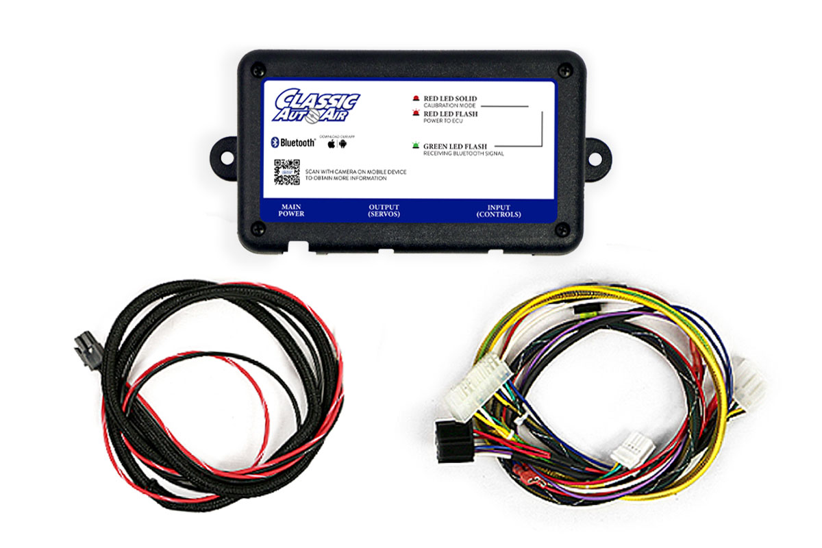 Ford Mustang A/C Kit SMART-ECU-WIRING-AND-HARNESS